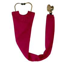 Crimson Stethoscope Cover
