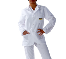East Carolina University Short Labcoat