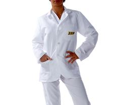 East Carolina University Short Labcoat