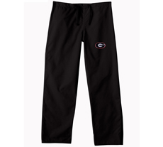 University of Georgia Black Regular Pant