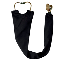 Black Stethoscope Cover