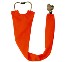 Pumpkin Orange Stethoscope Cover