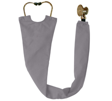 Gray Stethoscope Cover