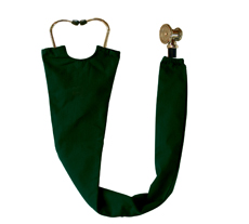 Hunter Green Stethoscope Cover