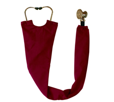 Maroon Stethoscope Cover